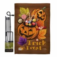 Breeze Decor BD-HO-GS-112003-IP-BO-D-US15-BD 13 x 18.5 in. Candy Pumpkin Fall Halloween Verti - 1