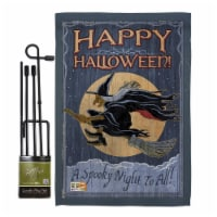 Breeze Decor BD-HO-GS-112063-IP-BO-D-US16-AL 13 x 18.5 in. A Spooky Night To All Fall Hallowe - 1