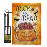 Breeze Decor BD-HO-GS-112078-IP-BO-D-US18-BD 13 x 18.5 in. Trick or Treat Candys Fall Hallowe - 1