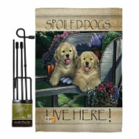 Breeze Decor BD-PT-GS-110063-IP-BO-D-US12-AL 13 x 18.5 in. Wagging Along for the Ride Nature
