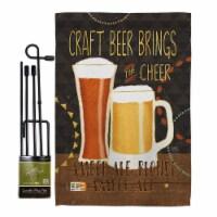 Breeze Decor BD-BV-GS-117052-IP-BO-D-US18-WA 13 x 18.5 in. Craft Beer Brings Cheer Happy Hour