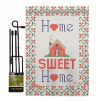 Breeze Decor BD-SH-GS-100062-IP-BO-D-US16-BD 13 x 18.5 in. Welcome Sweet Home Inspirational I - 1
