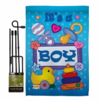 Breeze Decor BD-FY-GS-115069-IP-BO-D-IM09-BD 13 x 18.5 in. Baby Boy Special Occasion Family I