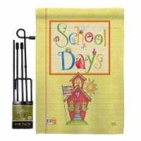 Breeze Decor BD-SE-GS-115105-IP-BO-D-US16-AM 13 x 18.5 in. School Days Special Occasion & Edu - 1