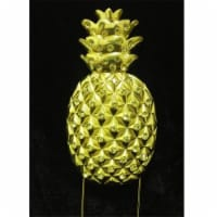 Tian Sweet 33014-Pag Golden Pineapple Rhinestone Cake Topper