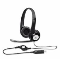 Logitech H390 USB Headset - Black