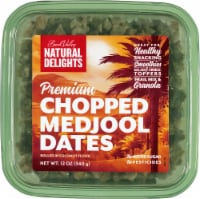 Bard Valley Natural Delights Premium Chopped Medjool Dates