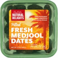 Bard Valley Natural Delights Pitted Fresh Medjool Dates - 12 oz