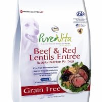 Tuffpf 131064 Nutri Source Pure Vita Grain Free Beef & Red Lentils for Dogs - 1
