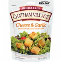 Chatham Village Cheese & Garlic Large Cut Baked Croutons