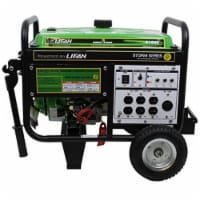 Lifan ES4100E 4000 watt ES Generator - 7 MHP with Recoil & Electronic Start Wheels