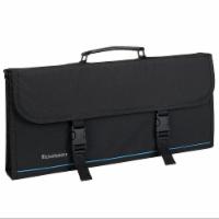 Messermeister 17 Pocket Knife Culinary Tool Storage Carry Luggage Case, Black