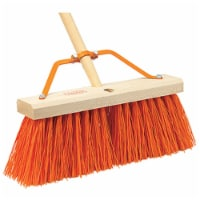 Harper Push Broom 16 in. W x 60 in. L Synthetic - Case Of: 1; Each Pack Qty: 1 - Count of: 1