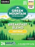 Green Mountain Coffee Breakfast Blend K-Cup Pods - 24 ct