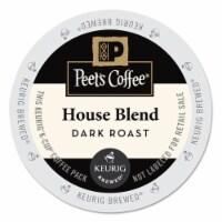 Keurig Peet's House Blend Coffee K-Cups 22 pk - Case Of: 1; - Count of: 1