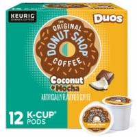 The Original Donut Shop™ Coconut Mocha Medium Roast Coffee K-Cup Pods - 12 ct