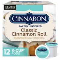 Cinnabon Classic Cinnamon Roll Light Roast K-Cup Pods - 12 ct