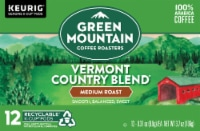 Green Mountain Coffee Vermont Country Blend Medium Roast K-Cup Pods