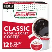 Krispy Kreme Classic Medium Roast Coffee K-Cup Pods - 12 ct