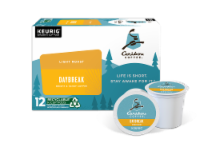 Caribou Coffee Daybreak Morning Blend K-Cup Pods