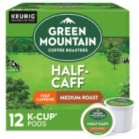 Green Mountain Coffee Roasters Half-Caff Medium Roast Coffee K-Cup Pods