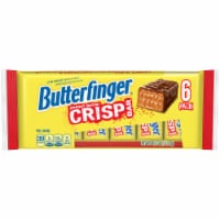 Butterfinger Peanut Butter Crisp Bars