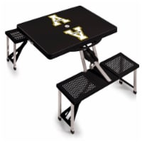 App State Mountaineers - Picnic Table Portable Folding Table with Seats