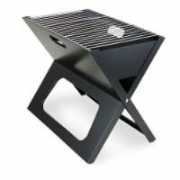 X-Grill Portable Charcoal BBQ Grill, Black