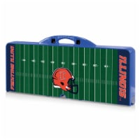 Illinois Fighting Illini - Picnic Table Portable Folding Table with Seats