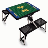 Pitt Panthers - Picnic Table Portable Folding Table with Seats