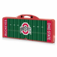 Ohio State Buckeyes - Picnic Table Portable Folding Table with Seats
