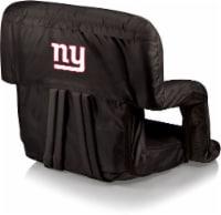 New York Giants Ventura Portable Reclining Stadium Seat - Black
