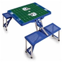 Indianapolis Colts - Picnic Table Portable Folding Table with Seats