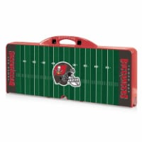 Tampa Bay Buccaneers - Picnic Table Portable Folding Table with Seats
