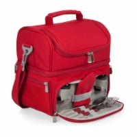 Pranzo Lunch Cooler Bag, Red