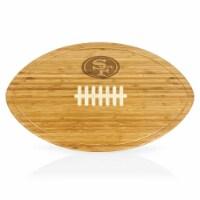 San Francisco 49ers - Kickoff Football Cutting Board & Serving Tray