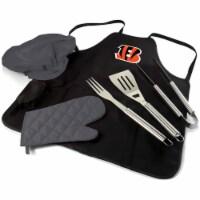 Cincinnati Bengals - BBQ Apron Tote Pro Grill Set