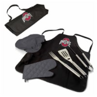 Ohio State Buckeyes BBQ Apron Tote Pro Set with Tools