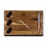 Ohio State Buckeyes - Delio Acacia Cheese Cutting Board & Tools Set