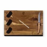 Baltimore Ravens - Delio Acacia Cheese Cutting Board & Tools Set - 15 x 10 x 0.8