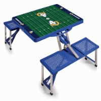 Los Angeles Rams - Picnic Table Portable Folding Table with Seats