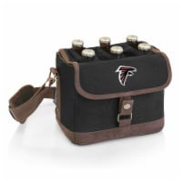 Atlanta Falcons - Beer Caddy Cooler Tote with Opener - 9 x 5.5 x 6.8