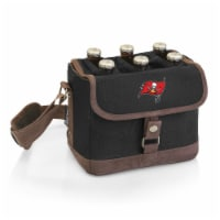 Tampa Bay Buccaneers - Beer Caddy Cooler Tote with Opener - 9 x 5.5 x 6.8