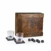 Atlanta Falcons - Whiskey Box Gift Set