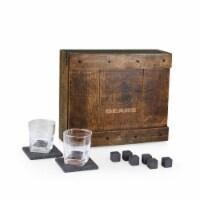 Chicago Bears - Whiskey Box Gift Set