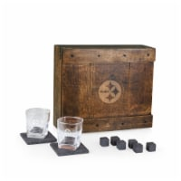 Pittsburgh Steelers - Whiskey Box Gift Set