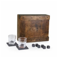 San Francisco 49ers - Whiskey Box Gift Set - 15 x 13 x 4.75
