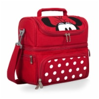 Disney Minnie Mouse - Pranzo Lunch Cooler Bag, Red