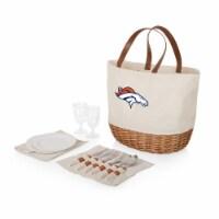Denver Broncos - Promenade Picnic Basket - 14.75 x 11.4 x 13.4