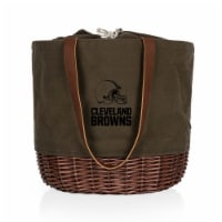 Cleveland Browns - Coronado Canvas and Willow Basket Tote